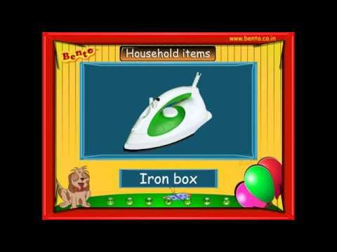 learn-basic-household-items-for-preschool-kids
