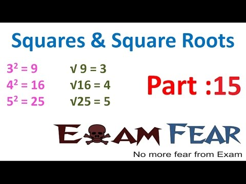 Maths Square and Square Roots part 15 (Concepts behind Pythagorean Triplets Tricks) CBSE Class 8