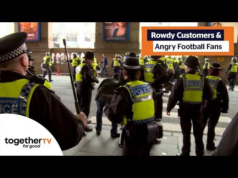 Angry Football Fans Cause Havoc In Train Station   All Aboard: East Coast Trains