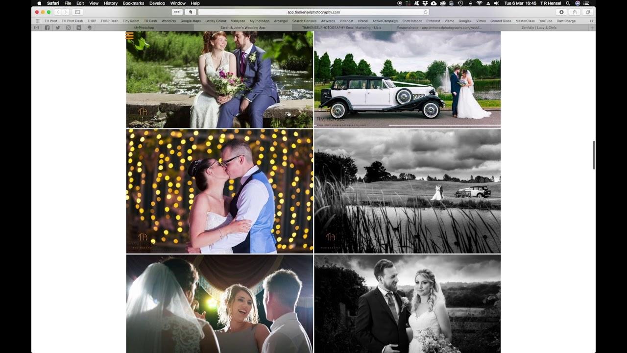 MyPhotoApp - Mobile App Builder for Photographers