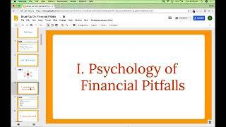 Webinar: Brush Up On Financial Pitfalls