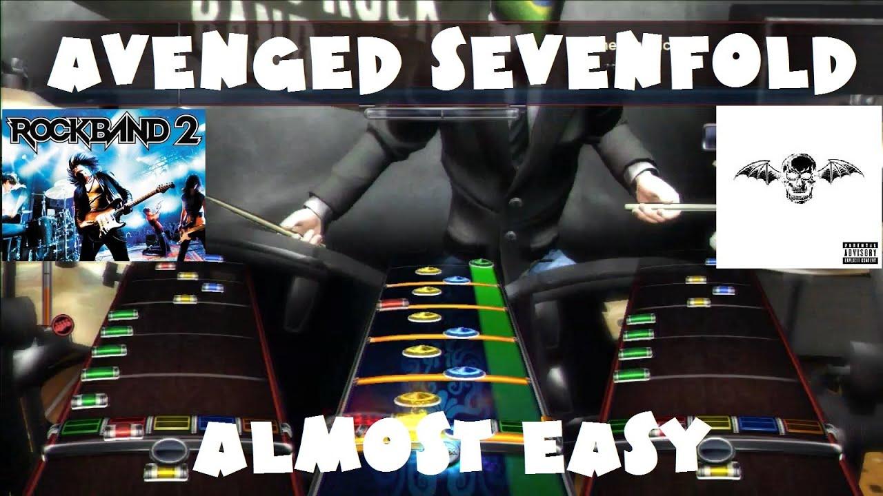 avenged sevenfold almost easy rock band 2 expert full band youtube. Black Bedroom Furniture Sets. Home Design Ideas
