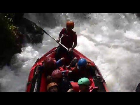 rafting pangalengan bandung jawa barat grage hotel cirebon gathering gel 1 youtube