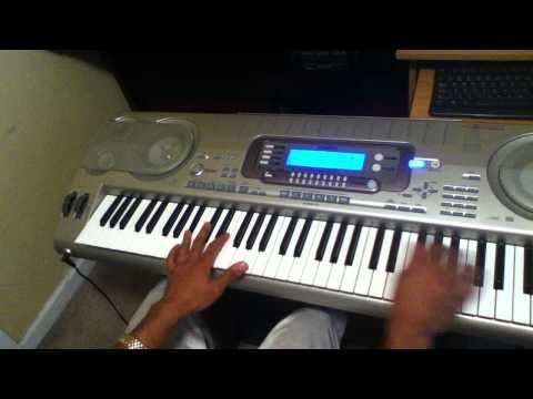 Teddy P (Love T.K.O) on keyboard