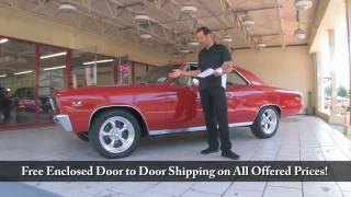 1967 Chevelle SS 396 SALE Tony Flemings Ultimate Garage reviews horsepower ripoff complaints video