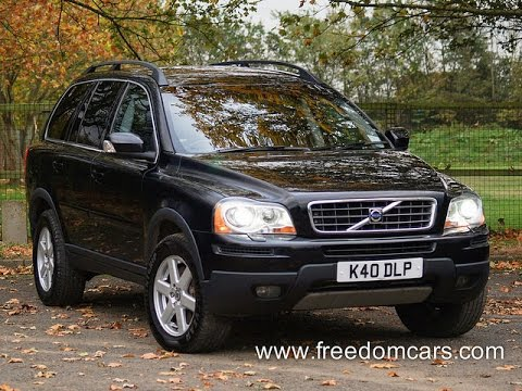 volvo xc90 2.4 d5 active 5dr geartronic + heated seats + xenon