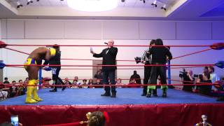 AJ Styles vs Mentallo vs Shadow Xtreme vs Alix Vanna FULL MATCH