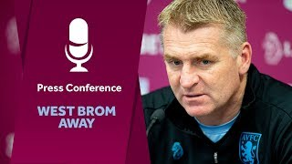 Press conference West Brom away