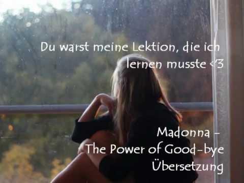 madonna-the-power-of-good-bye-Übersetzung
