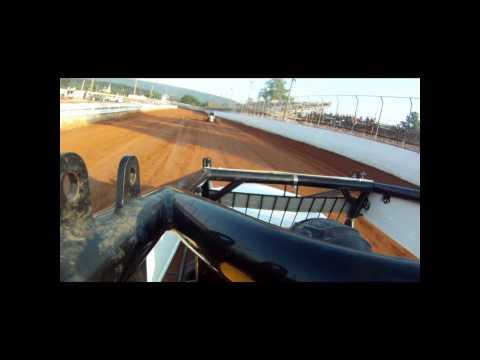 Port Royal Speedway with USAC Driver Robert Ballou
