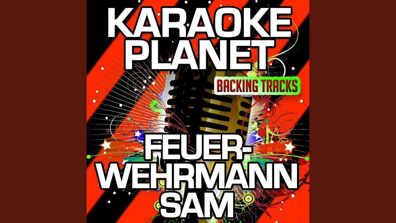 feuerwehrmann sam karaoke version with background vocals