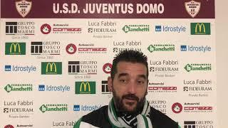 Chiaravallotti dopo Juventus Domo-Vogogna