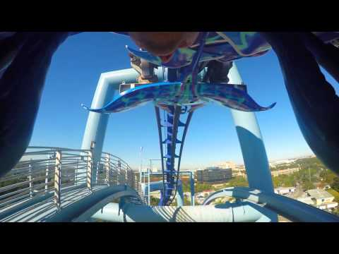 Manta Roller Coaster - Sea World - Orlando, Florida