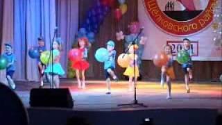 танец 'Шалунишки' старший дошкол�