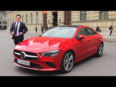 2019 Mercedes CLA 4MATIC + New Full Review Drive Sound Interior Exterior