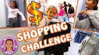 OUTFIT SHOPPING CHALLENGE | Schafft eine 8 Jährige mit 150 Euro shoppen? MILEYS WELT