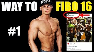JEFF SEID postet Bild - Way to FIBO 2016 #1 | Emir Cehajic