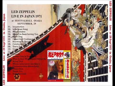 LED ZEPPELIN LIVE OSAKA 1971/09/29 (WINSTON REMASTERS)