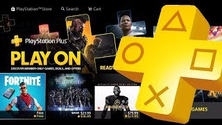 WHY PS4 FREE TO PLAY HAVE PS PLUS EXCLUSIVE BUNDLES