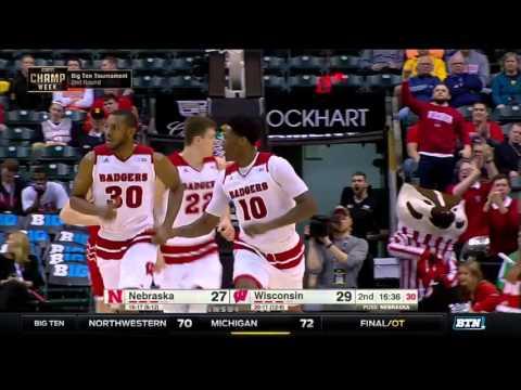 Nebraska vs. Wisconsin - 2016 Big Ten Men