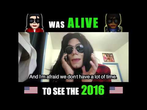If Michael Jackson Was ALIVE to See The 2016 Presidential Election
