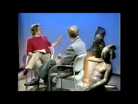 Interview of Kahlil Gibran Artist by David Ossman in Boston