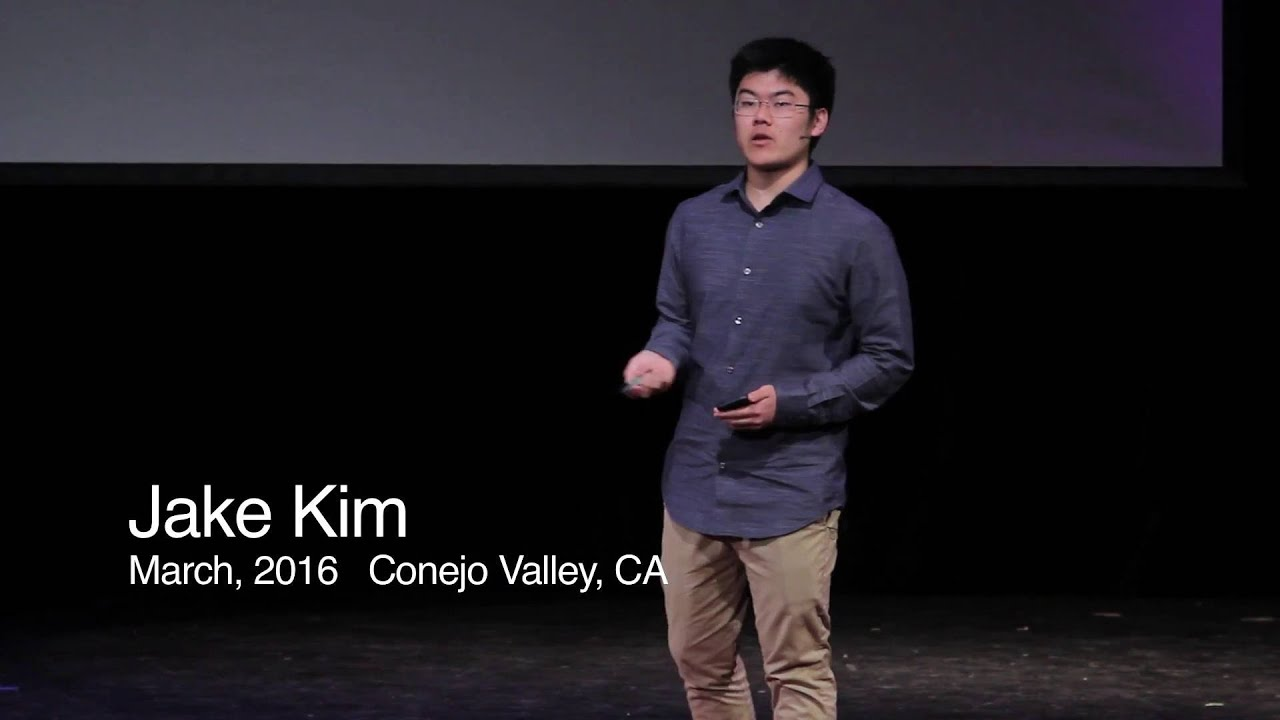The Universal Disability | Jake Kim | TEDxYouth@Conejo