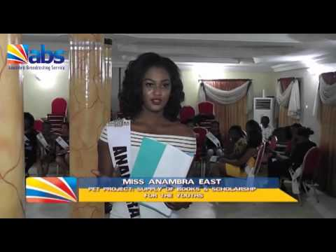 Miss Anambra 2015 -  Highlights from Camp day 2.