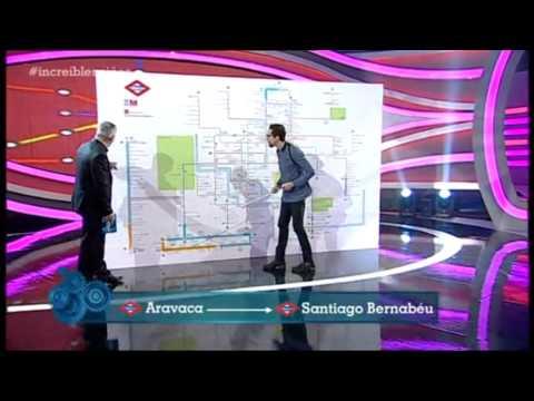 Increíbles - Mario Se Conoce Todas Las Paradas Del Metro De Madrid