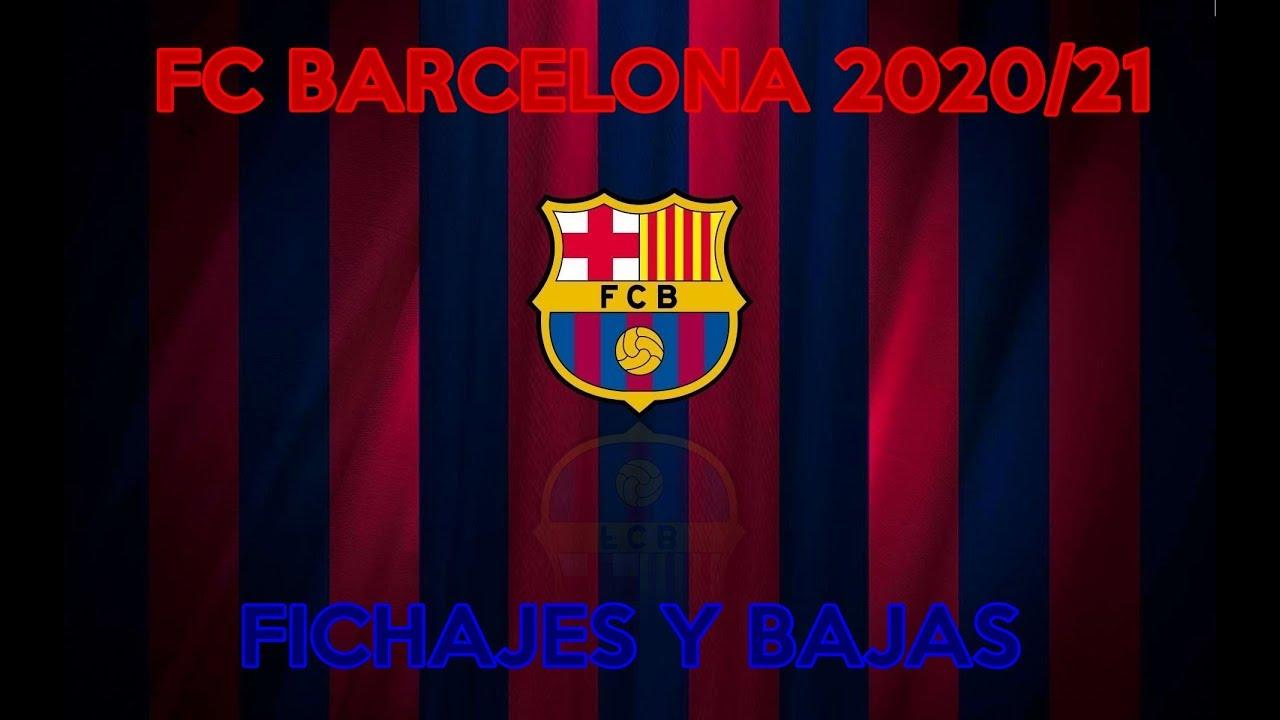 FC BARCELONA 2020/21 | FICHAJES Y BAJAS PARA LA TEMPORADA ...