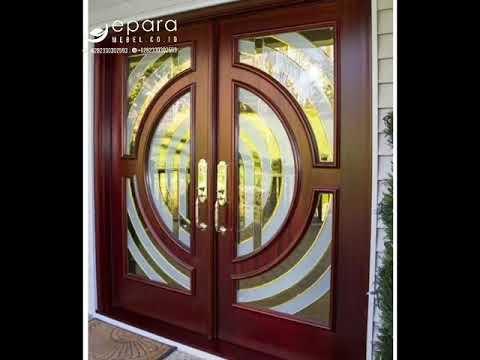 9 Model Desain Pintu Kupu Tarung Rumah Mewah Youtube