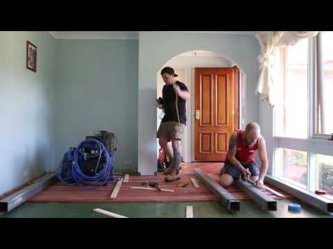 Timber Flooring Installation Over Concrete