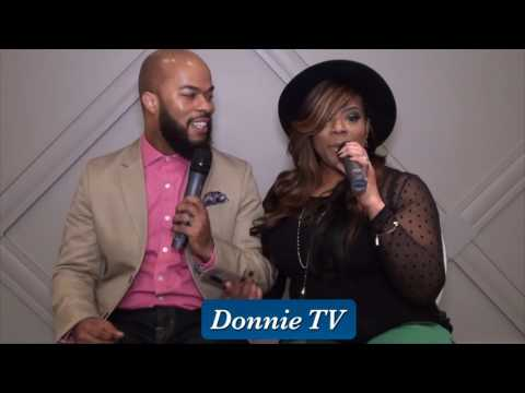 JJ Hairston & wife Trina share their love story of how they met