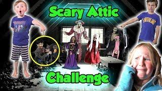 Скачать Scary Attic Challenge In The Dark DavidsTV