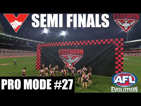 AFL EVOLUTION PRO MODE EP 27 / SEMI FINALS BLOCKBUSTER / Sydney vs Essendon