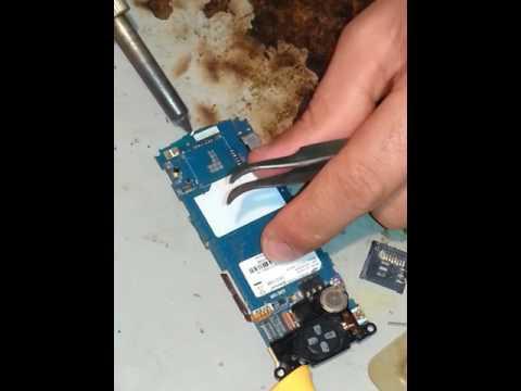 Samsung C3010 S5230 problème lecteur carte sim et carte mémoire expresse