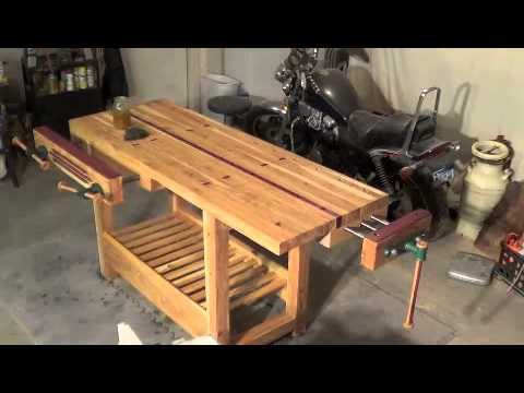 Workbench Timelapse Applying The Finish YouTube