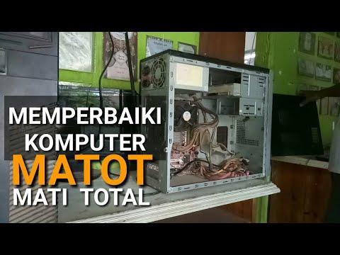 Memperbaiki komputer mati total