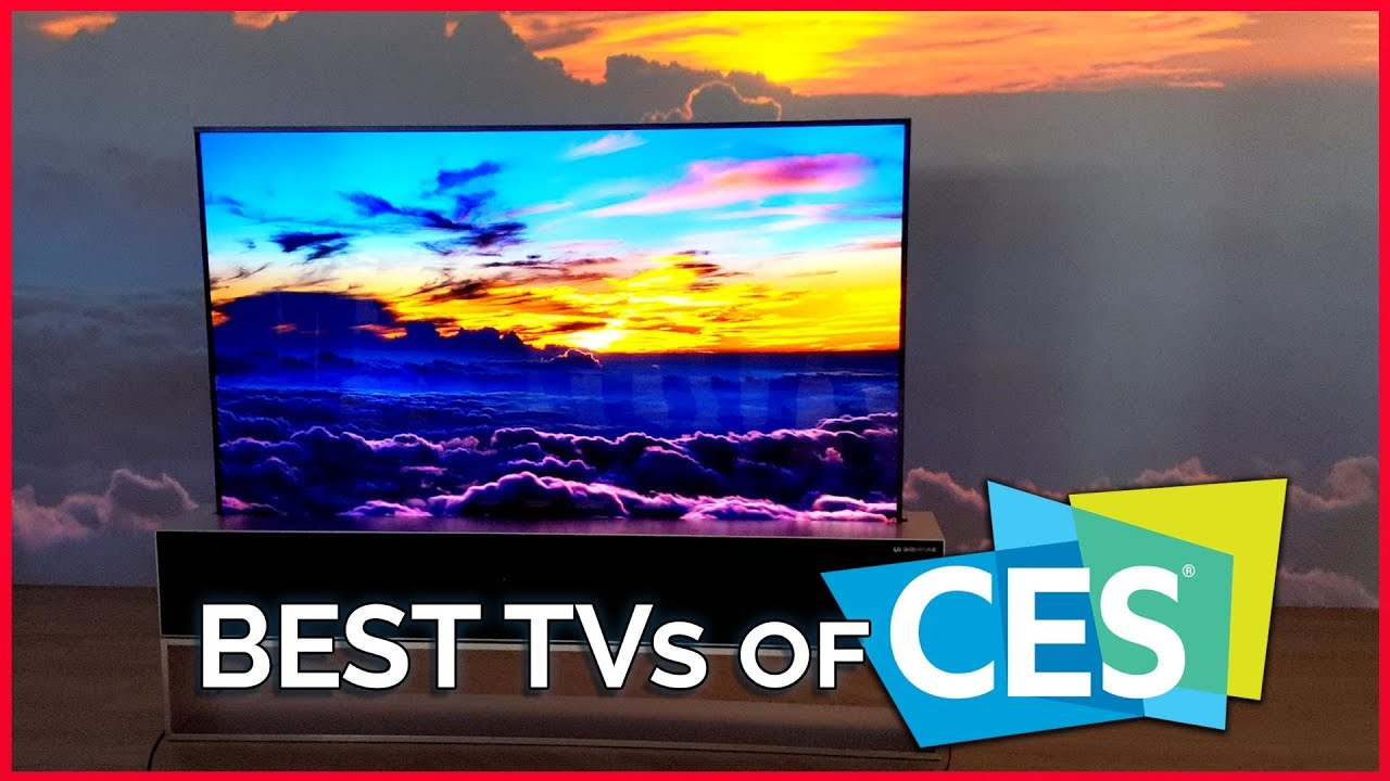 The Best TVs of CES 2019 - Hisense, LG Rollable TV, TCL, Sony