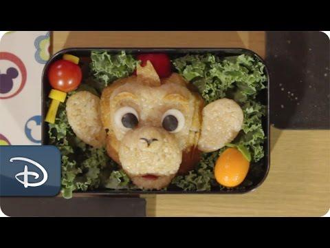 disney parks how to make a bento box magical albert the monkey hong kong disneyland youtube. Black Bedroom Furniture Sets. Home Design Ideas