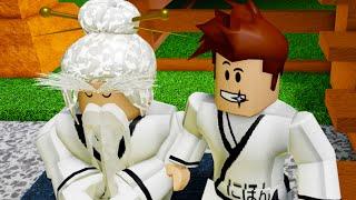 Кид - мастер Кунг Фу Роблокса! Пол это Лава и Сэнсей в Ninja Training Obby Roblox