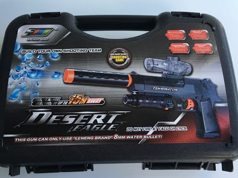 Fully Automatic Desert Eagle Toy Gun - Hydro-Blaster Gel ball shooter | Backyard Blasters streaming vf