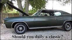 So, you want to daily drive a classic car?