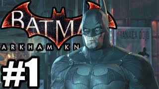 Batman Arkham Knight Gameplay Walkthrough FR #1 | CE JEU EST TROP COOL!