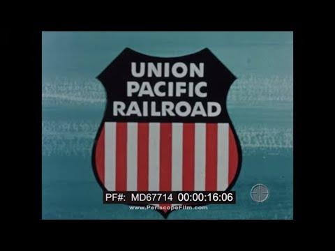 UNION PACIFIC RAILROAD NORTHWEST EMPIRE  1950s OREGON & WASHINGTON STATE  PORTLAND TACOMA MD67714