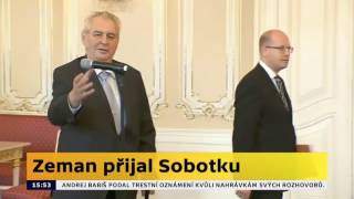 THUG LIFE - Miloš Zeman x Bohuslav Sobotka 4.5.2017