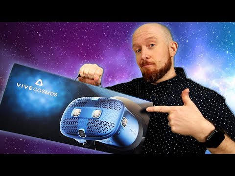 vive-cosmos-setup,-unboxing-&-first-impressions