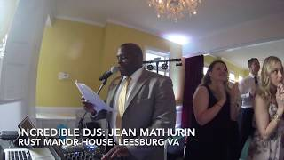Wedding Party Introductions at Rust Manor House in Leesburg Virginia