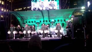 NY Jets Flight Crew Times Square