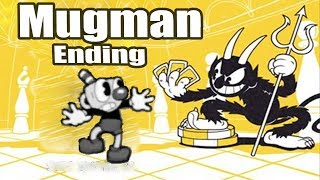 Cuphead Defeating The Devil And Ending With Mugman (Mugman Time)